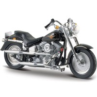 Maisto Harley-Davidson Flstf Fat Boy 1997 Model Motor