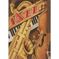 Clementoni Puzzle Jazz (500 Parça,Mantar)