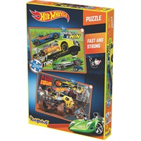 Kırkpabuc Hot Wheels Fast & Strong Puzzle