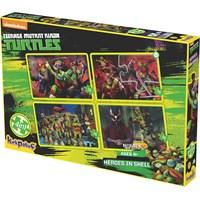 Kırkpabuc Ninja Turtles Heroes In Shell Puzzle