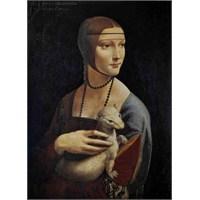Ricordi Puzzle Dama con l'ermellio, Leonardo da Vinci (1000 Parça)
