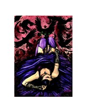 Ricordi Puzzle Lady Of Crows, Scarlet Gothica (1000 Parça)