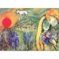 Ricordi Puzzle Les Amoureux de Vence, 1957, Chagall (1000 Parça)