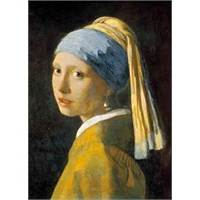 Ricordi Puzzle The girl with a pearl earing, Vermeer (1000 Parça)