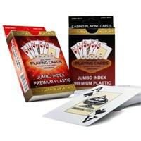 Jumbo Lux İskambil Oyun Kartları - 54 Kart