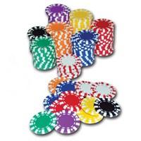 Poker Fişi Tamponlu Düz 60'Lık