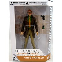 Commissioner Gordon Greg Capullo Action Figure