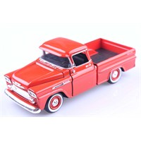 Diecast 1958 Chevy Apache Fleetside Pickup 1/24 Die Cast Model Araç