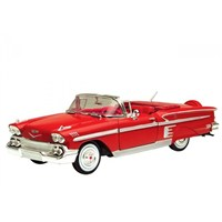 Diecast 1958 Chevy Impala 1/24 Die Cast Model Araç