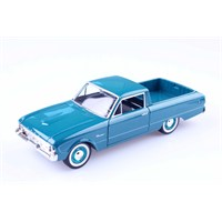 Diecast 1960 Ford Ranchero 1/24 Die Cast Model Araç