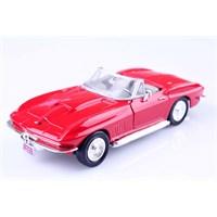 Diecast 1967 Corvette Cabrio 1/24 Die Cast Model Araç