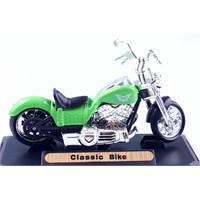 Diecast Classical Bike 1/18 Die Cast Model Motorsiklet