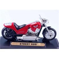 Diecast Street Rod 1/18 Die Cast Model Motorsiklet