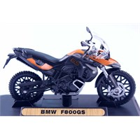 Diecast Bmw F800gs 1/18 Die Cast Model Motorsiklet