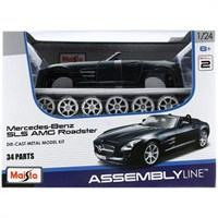 Maisto 1:24 Maket Kit Mercedes Benz Sls Amg Roadster