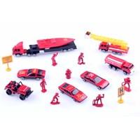 Learning Toys 16'lı Diecast 1/87 İtfaiye Seti