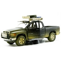 Maisto 2002 Dodge Ram Quad Cam Dirt Riders 1:24 Yeşil