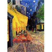Gold Puzzle Gece Cafe (1000 Parça)