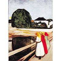 Ricordi Puzzle The Girls On The Bridge,Munch (1000 Parça)