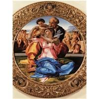Ricordi Puzzle Sacra Famiglia, Michelangelo (1500 Parça)