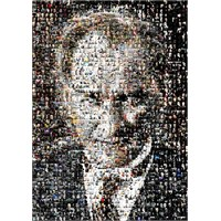 Ks Games Puzzle Atatürk Set Kolaj (1000 Parça)