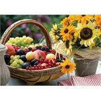 KS Games Puzzle Fruit And Sunflower (1000 Parça)