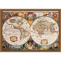KS Games Puzzle 17th Centruy World Map (2000 Parça)