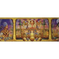 Clementoni Puzzle Egyptian Triptych (1000 Parça, Panorama)