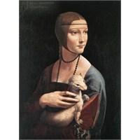 Ricordi Puzzle Dama Con Lermelliono,Leonardo Da Vinci (1000 Parça)
