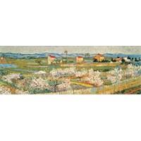 Ricordi Puzzle Pecheurs en Fleurs,Van Gogh (1000 Parça, Panorama)