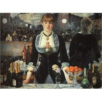 Ricordi Puzzle A Bar At The Folies,Edouard Manet (1500 Parça)