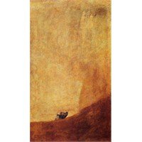 Ricordi Puzzle The dog from Black paintings, Goya (1000 Parça)