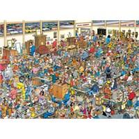 Jumbo Puzzle The Antique Show (1000 Parça)