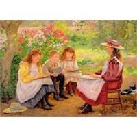 Jumbo Puzzle Summer Lessons (500 Parça)