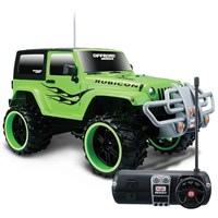 Maisto Tech 1:16 Jeep Wrangler Rubicon U/K Araba Yeşil
