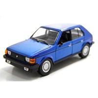 Motormax 1:24 1985 Dodge Omni Glh -Lacivert Model Araba