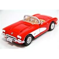 Motormax 1:24 1959 Corvette -Kırmızı 73216 - Model Araba