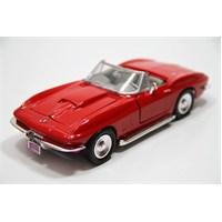 Motormax 1:24 1979 Corvette -Kırmızı Diecast Araba