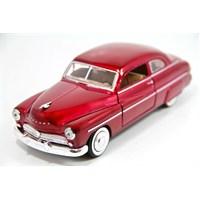 Motormax 1:24 1949 Mercury Coupe -Kırmızı Model Araba