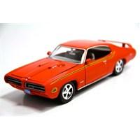 Motormax 1:24 1969 Pontiac Gto Judge -Turuncu Model Araba