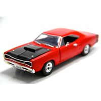 Motormax 1:24 1969 Dodge Coronet Süper Bee -Kırmızı Model Araba