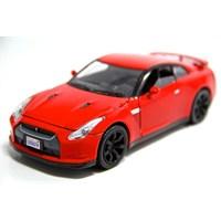 Motormax 1:24 2008 Nissan Gt-R -Kırmızı Model Araba