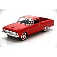 Motormax 1960 Ford Ranchero -Kırmızı 1:24 Model Araba