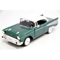 Motormax 1:24 1957 Chevy Bel Air -Yeşil Model Araba