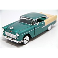 Motormax 1:24 1955 Chevy Bel Air -Yeşil Model Araba