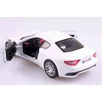Motormax 1:24 Maserati Gran Turismo -Beyaz Model Araba