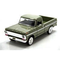 Motormax 1:24 1969 Ford F-100 Pickup -Yeşil Model Araba