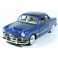Motormax 1:24 1949 Ford Coupe -Mavi Model Araba