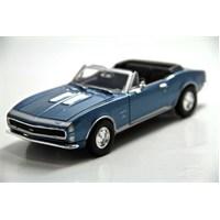 Motormax 1:24 1967 Chevy Camaro Ss -Bordo Model Araba