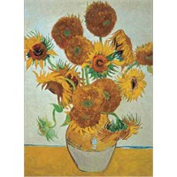 Ricordi Puzzle Sunflowers, Van Gogh (1500 Parça)